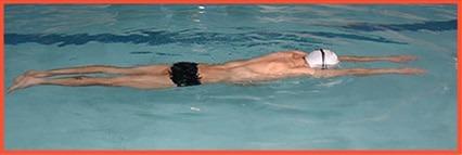 position pour bien nager le crawl