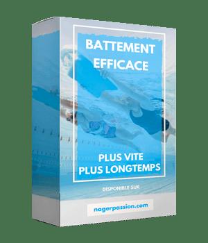 programme natation battements efficaces