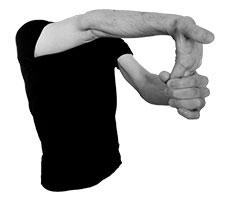 les étirements en natation de l'avant bras